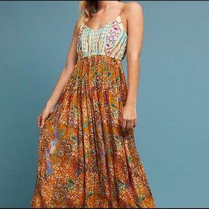 Raga Parkland maxi dress for Anthropologie